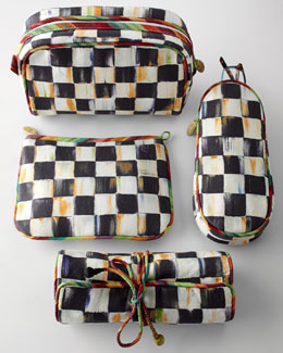 MacKenzie-Childs Courtly Check Travel Accessories
