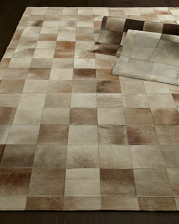 Winslow Hide Blocks Rug