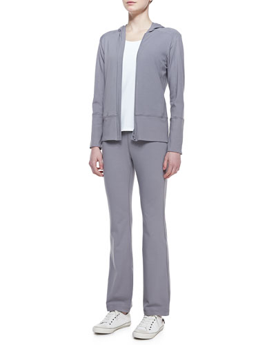 Eileen Fisher Organic Stretch Hooded Jacket, Yoga Tank & Pants
