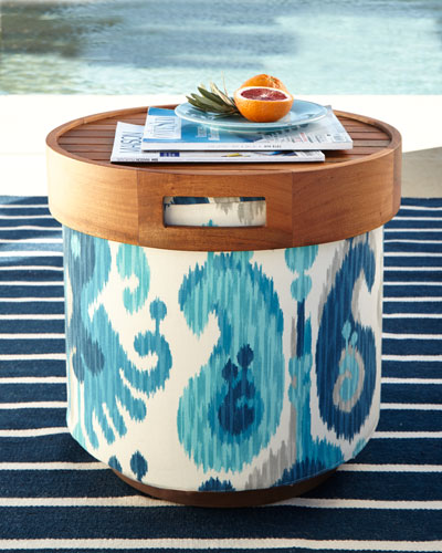 Gaea Round Pouf Collection