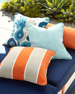 Katharine Webster Greco Outdoor Pillow Collection