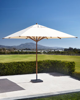 Outdoor Umbrella & Stand