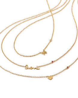 SHY by Sydney Evan 14k Gold Vermeil Necklaces