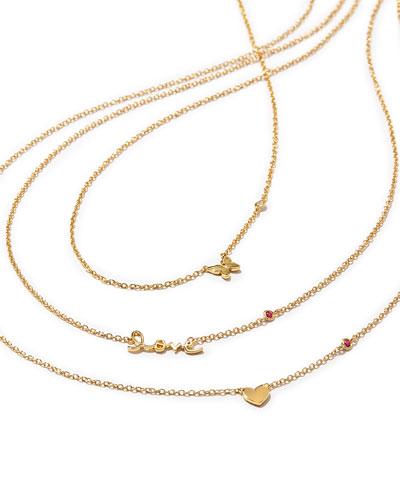 14k Gold Vermeil Necklaces