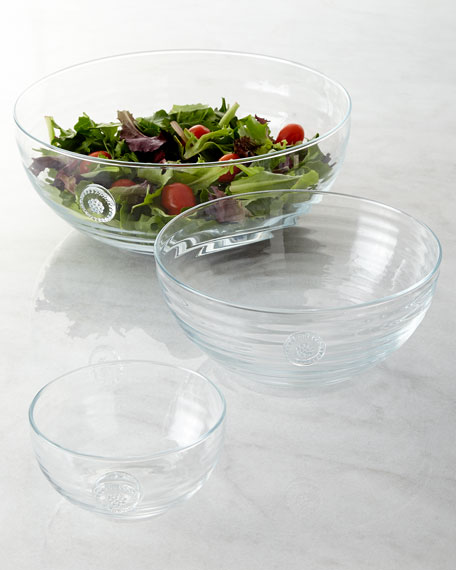 Berry & Thread Medium Glass Bowl