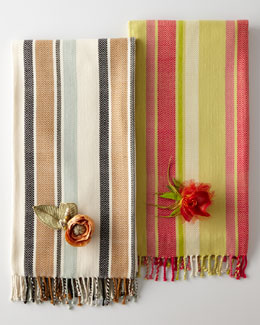 MacKenzie-Childs Woven Cotton Throws
