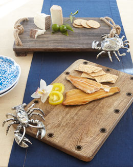 Mud Pie Crab & Lobster Cutting Boards
