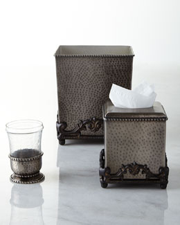 GG Collection Hammered Vanity Accessories