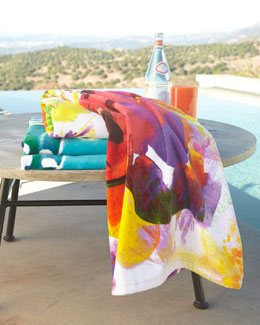 Natori Garbo & Hunan Beach Towels