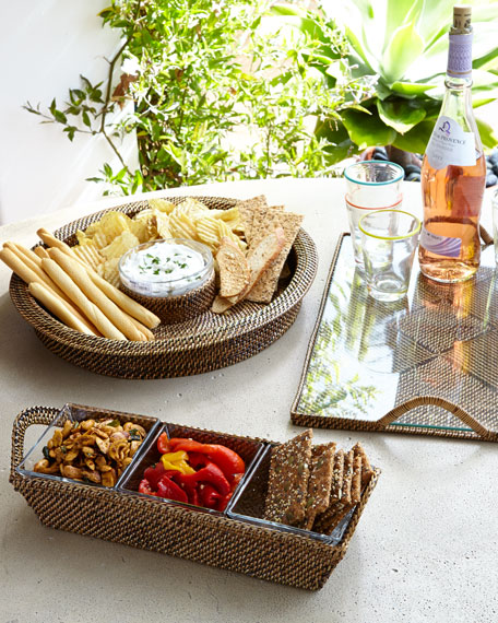 Calaisio Three-Section Serving Tray