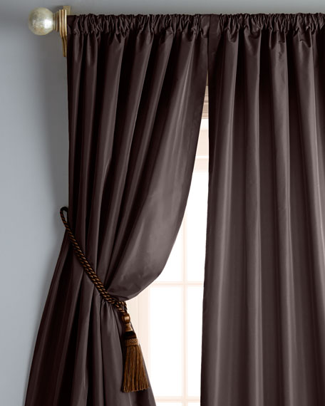 "Each 48""W x 96""L Goblet-Pocket Kate Curtain"