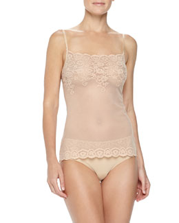 Commando Tulip Lace Camisole & Bikini Brief