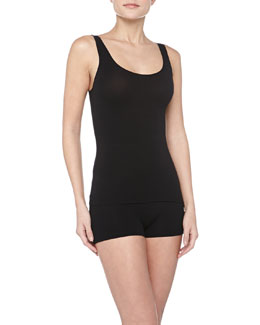 Commando Seamless Lux Layering Tank Top & Boyshorts