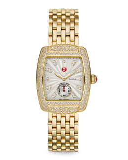 MICHELE Urban Mini Diamond Watch Head & Straps