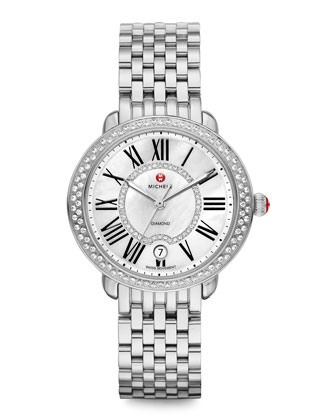 Serein Stainless Diamond Watch Head & 16mm Bracelet Strap