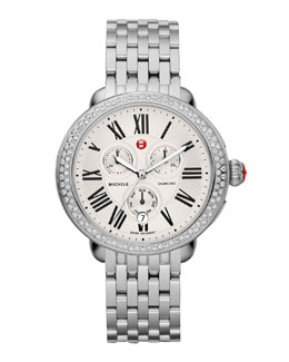 MICHELE Serein Diamond Dial Watch Head & Bracelets