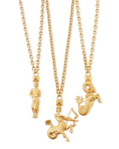 Valentino Golden Zodiac Necklace