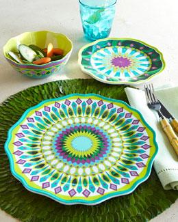 Kim Seybert Moroccan Melamine Dinnerware