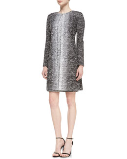 St. John Collection Long-Sleeve Topper Jacket & Sleeveless Sheath Dress