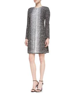 St. John Collection Long-Sleeve Topper Jacket & Sleeveless Sheath Dress