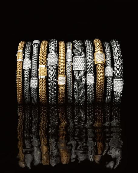 John Hardy Diamond Pave Medium Chain Bracelet