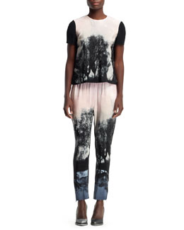 Stella McCartney Fireworks Hampstead Printed Tee & Pants