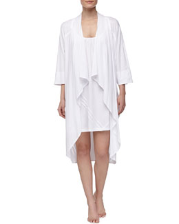 Donna Karan Pima Cotton Oversized Cozy & Chemise