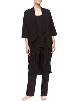 Donna Karan Pima Cotton Cozy, Tank & Pants