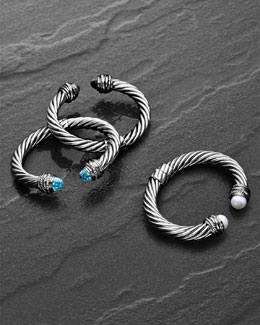 David Yurman Crossover Bracelets With Diamonds