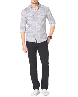 Michael Kors  Camo-Print Two-Pocket Shirt & Modern-Fit Jeans