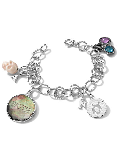 Ippolita Bracelet and Assorted Charms