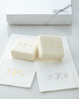 Carved Solutions Personalized Guest Soap & Disposable Towel Gift Sets