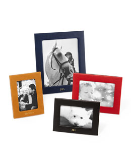 Graphic Image Inc Personalized Leather Picture Frames