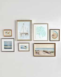"""Shore Lines"" Wall Gallery"