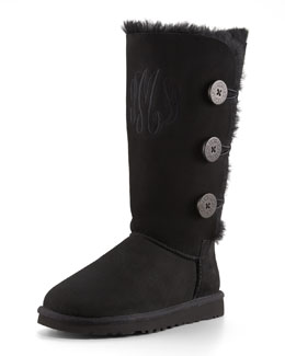 UGG Australia Bailey Button Tall Boot & Monogrammed Bailey Triple Button Boot