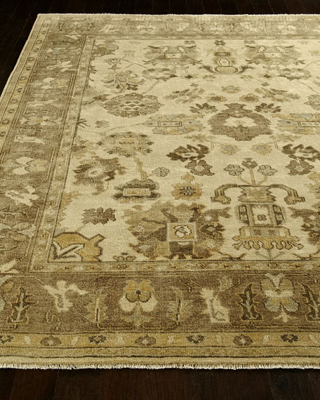 Exquisite Rugs Kersey Oushak Rug, 12' x 15'