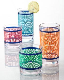 Jonathan Adler Sorrento Acrylic Drinkware