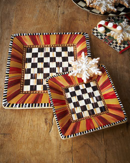 MacKenzie-Childs Festoonery Paper Plates