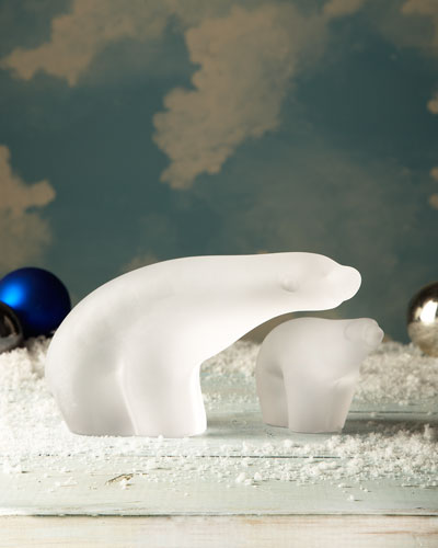Frosted Polar Bears