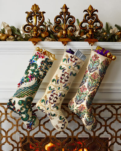 Kim Seybert Sugarplum Christmas Stockings