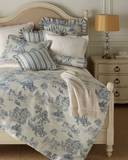 Sherry Kline Home Terry Town Toile Bedding