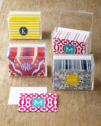 Personalized Folded Notes Boxed Sets