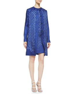 Fendi Kaleidoscope Organza Jacket & Dress