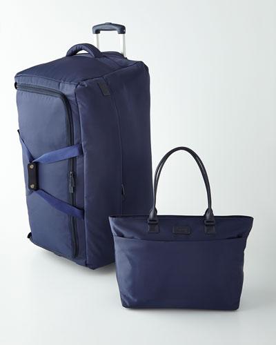 Lipault Navy Luggage