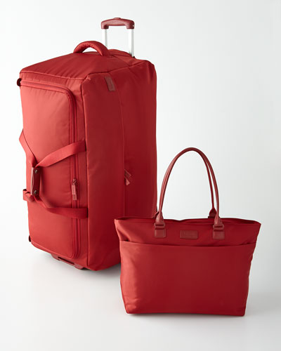 Lipault Red Luggage