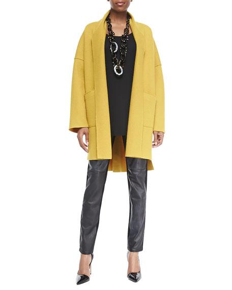 Eileen Fisher Long Silk Jersey Tunic
