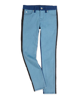 7 For All Mankind The Skinny Colorblock Girls' Jeans
