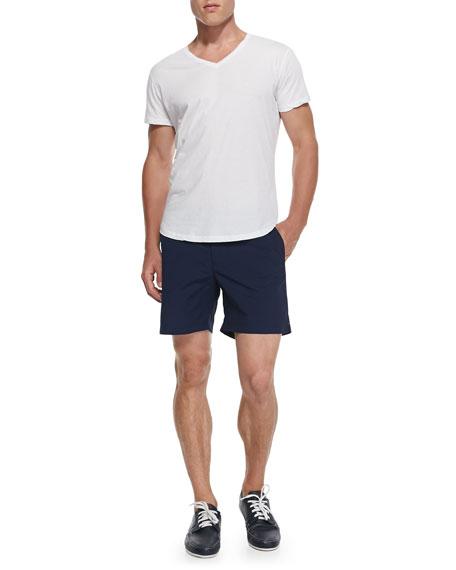 Orlebar BrownJersey V-Neck T-Shirt, White