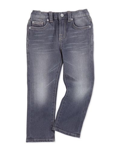 Kids' Straight-Leg Jeans, Vesper Gray