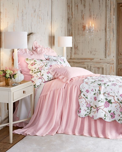 Pink Savannah & Ceylon Bedding